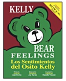 Kelly Bear Bilingual Feelings Book Cover